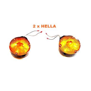 2x Spanisch Leuchte Orange Pablo Lollipop