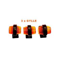 3x GYLLE POMARAŃCZOWE POD REJESTRACJĘ TIR
