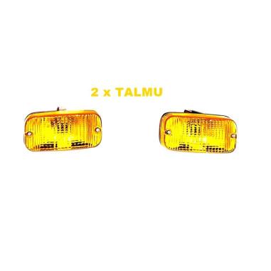 2x Talmu Finish DRL light yellow