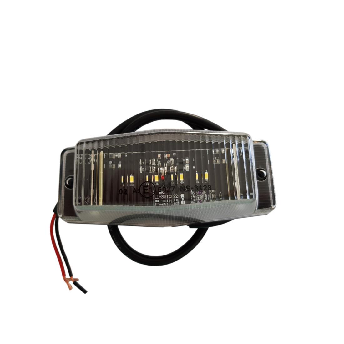 Double burner LED white light
