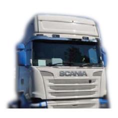 Scania R Streamline nerezovy dekor na sluneční clonou chrom
