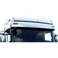 Scania R Streamline stainless cover sunvisor