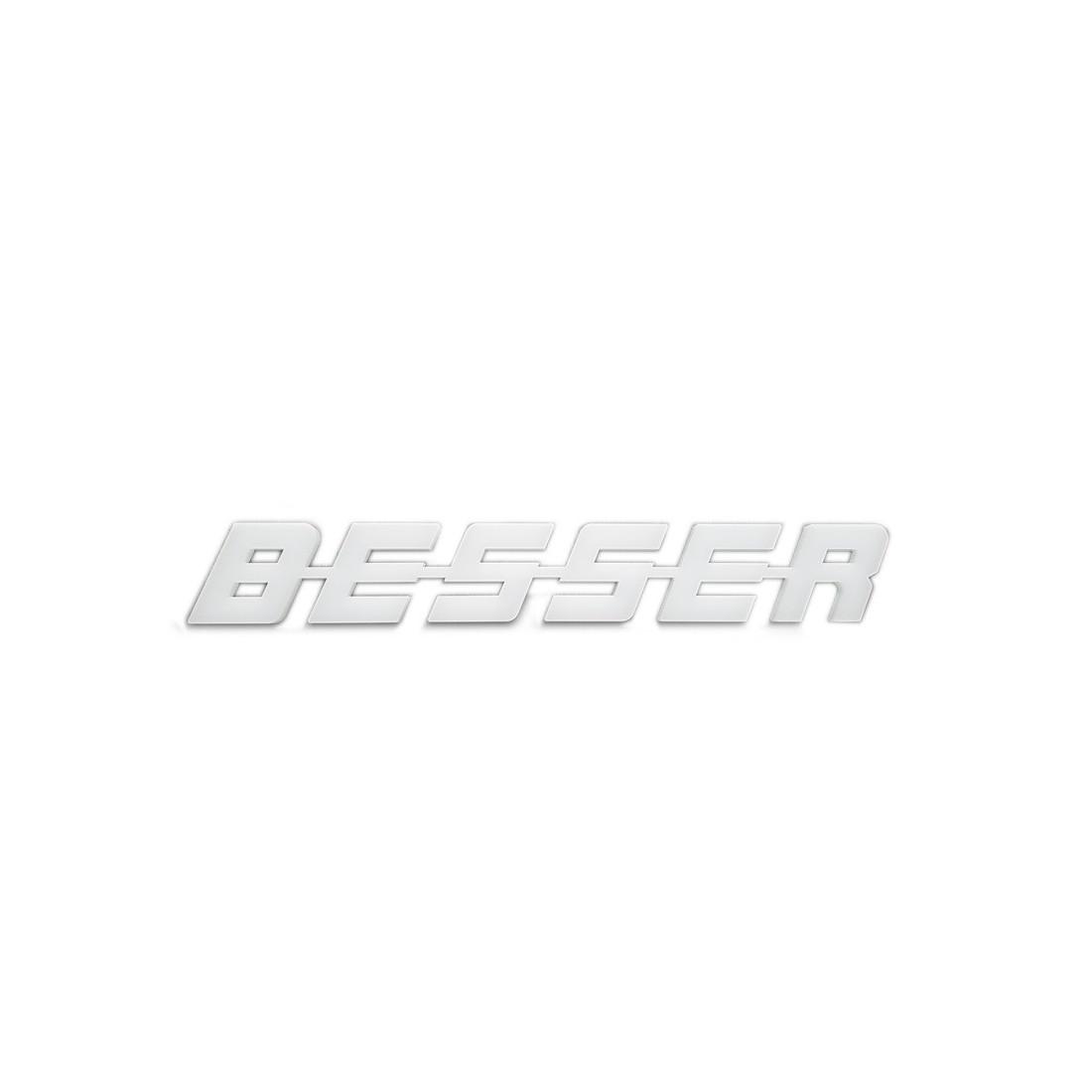 BESSER plastic emblem letters logo
