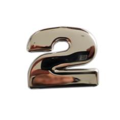 "SCANIA R 04-18 ""2"" Grill Emblem Abdeckung Chrom Edelstahl"