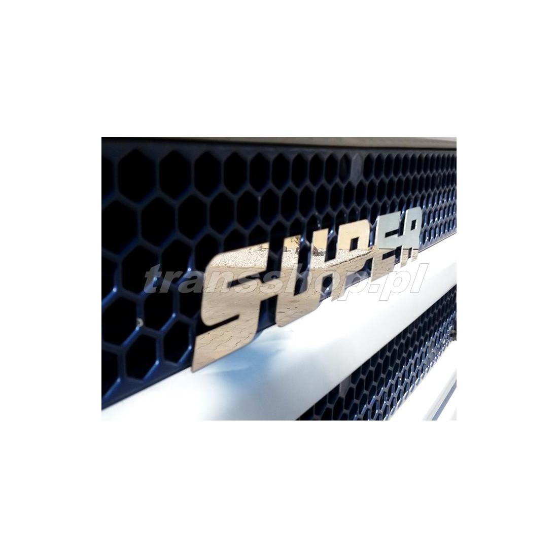 Emblem nerezovy SUPER SCANIA