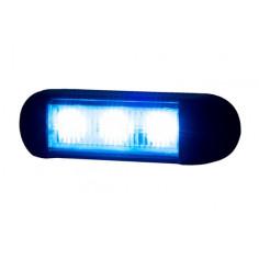 KOGUT LAMPA OSTRZEGAWCZA NIEBIESKA LED 12/24V LDO 2676