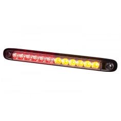 Lampa zespolona tylna czerwono- pomarańczowa LZD 2246