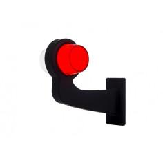 LKW LINKS Seitenmarkierungsleuchte LED NEON Rot Weiß OLD SCHOOL Pendelleuchte
