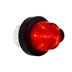 LKW Seitenmarkierungsleuchte LED Rot Weiß OLD SCHOOL Pendelleuchte LD 2588