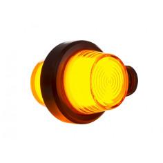 LAMPA KIERUNKOWSKAZU OBRYSOWA LED NEON POMARAŃCZOWA KRÓTKA OLD SCHOOL LKD 2608