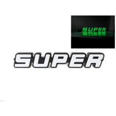 SUPER LOGO EMBLEM GREEN LED SCANIA