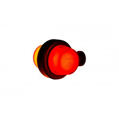 Poziční Světlo LED ORANZOVO-CERVENE NEON OLD SCHOOL LD 2627