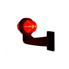 LEFT Truck Marker light LED orange-red  OLD SCHOOL LD 2620