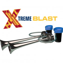 VAN AIR HORN MARCO XB2 12V XTREME BLAST with double compressor