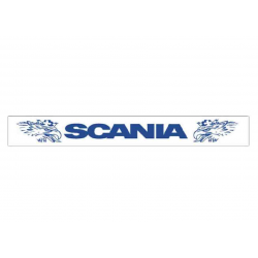 Schmutzfänger Scania Auflieger Weiß BLAU