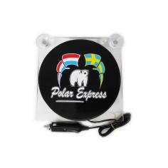 LIGHTBOX 17x17 POLAR EXPRESS LED TRUCK PLATE DELUXE