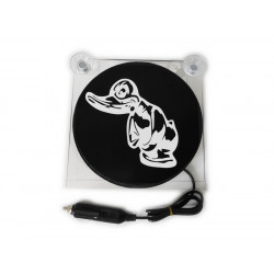 LIGHTBOX 17x17 ANGRY DUCK LED TRUCK PLATE DELUXE
