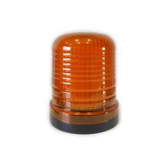 Flashing light beacon LED orange 24V