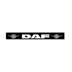 Mud flap trailer DAF black white
