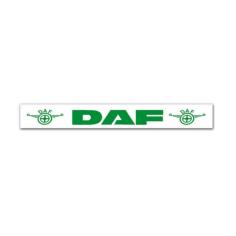 Schmutzfänger DAF Auflieger Weiß Grün