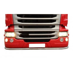 LOW BAR STAINLESS STEEL SCANIA R small bumper